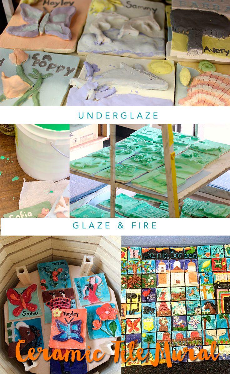17 best ideas about tile murals on pinterest ceramic for Ceramic mural designs