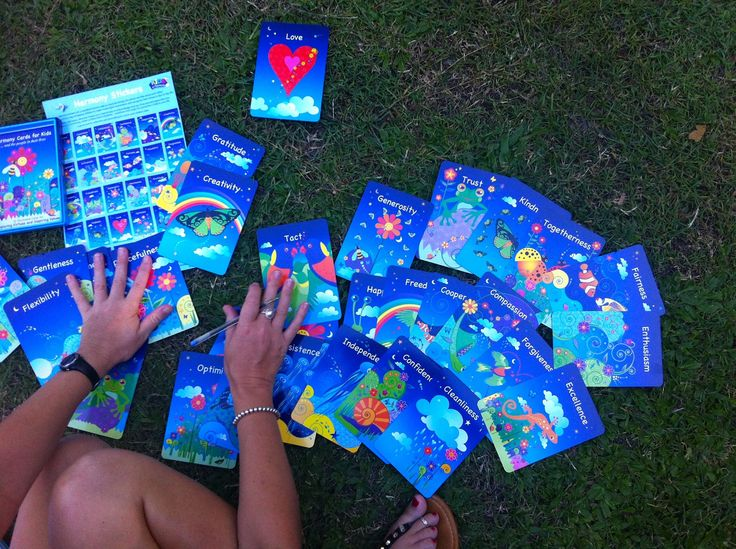 """Such a beautiful afternoon at Sundalah House delivering my workshop """"Your Happiness Formula"""".  I used the Harmony Cards for Kids as a resource to gain clarity around values!"""