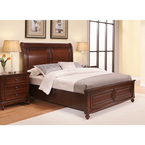 Abbyson Caprice Cherry Wood Bedroom Set  6 Piece. Best 25  Cherry wood bedroom ideas on Pinterest   Cherry sleigh
