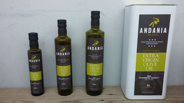 Andania - Ben Estate, #superior # category #extra #virgin #olive #oil #evoo