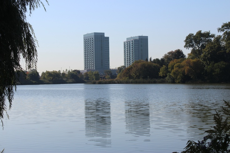 Our view from Grenedier Pond