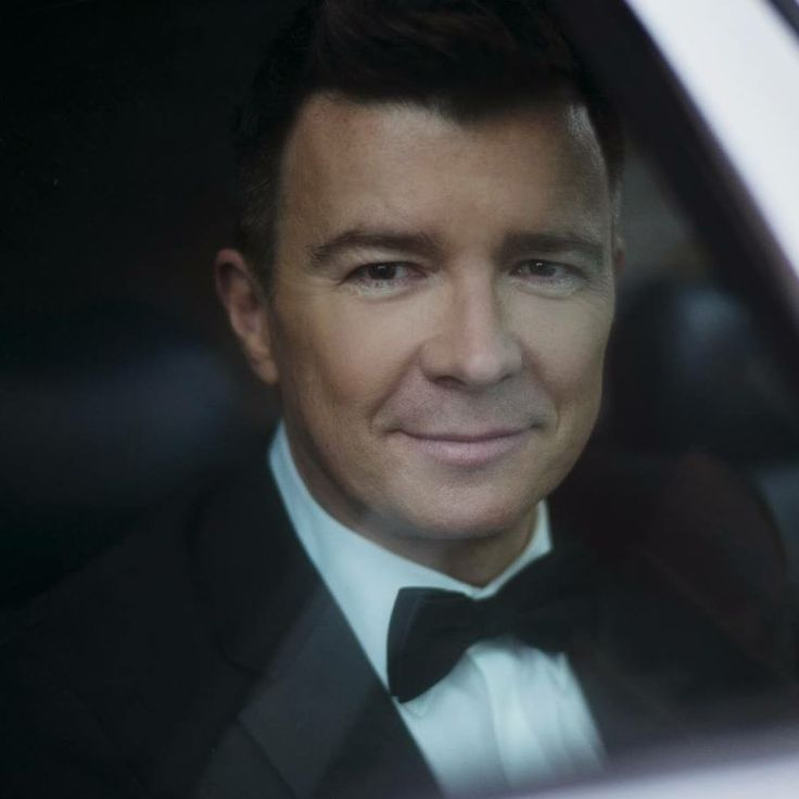 Rick Astley...handsome like ever.