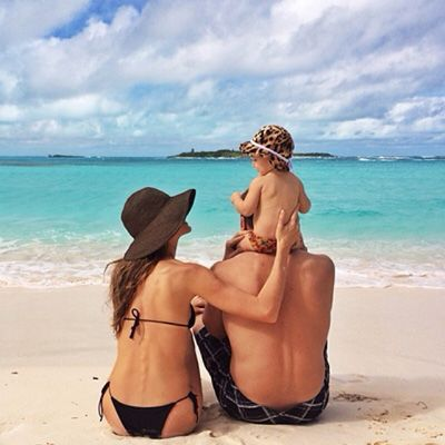 Gisele Bundchen - 8 Celebrity Instagram Photos You May Have Missed This Weekend - What's Right Now - Fashion - InStyle