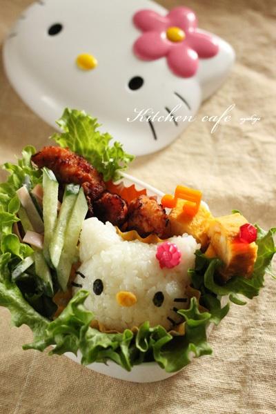 Hello Kitty in Hello Kitty! Kawaii Kyaraben Bento Lunch by Uzukaji