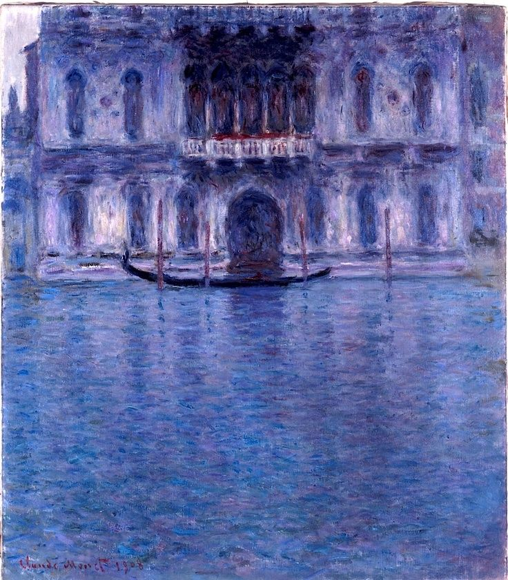 Claude Monet - Palazzo Contarini, Venedig