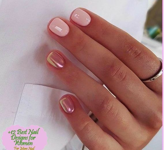 Simple Acrylic Nail Design Ideas For Short Nails For Summer 2018