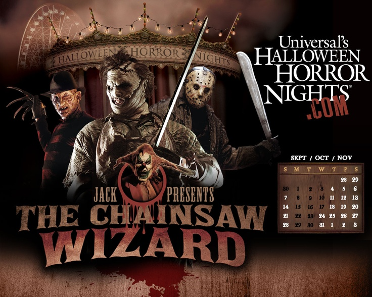 halloween horror nights 2017 house list