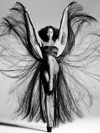Daniele Duella - Photographers - Editorial - V Magazine Naomi Campbell (in Collaboration With Iango) | Michele Filomeno