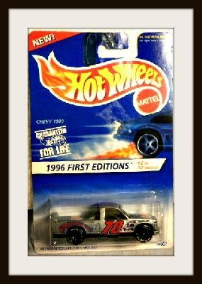 Chevy 1500 1996 First Editions Hot Wheels $11.65