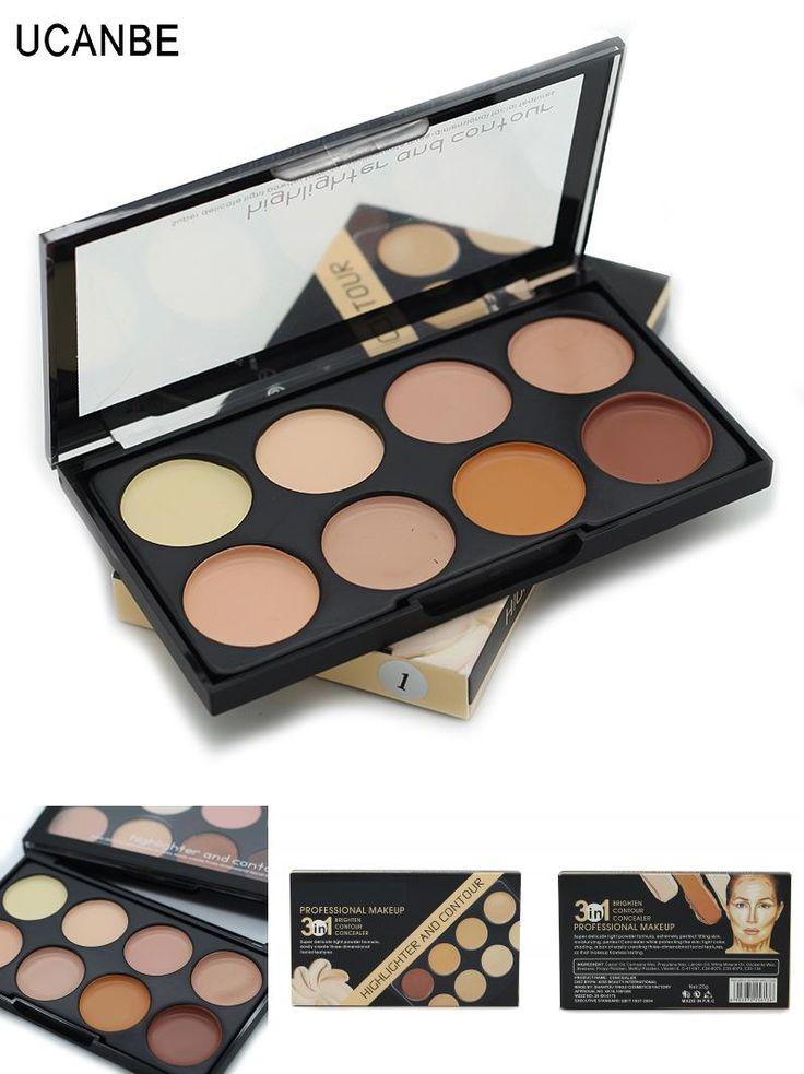 [Visit to Buy] Brand New 8 Color Concealer Cream Contour Makeup Camouflage Concealer Palette Brighten Waterproof Longlasting Flawless Make Up #Advertisement