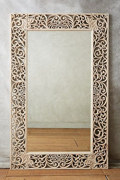 Oh. Oh man.  Beau Soir Mirror - anthropologie.com