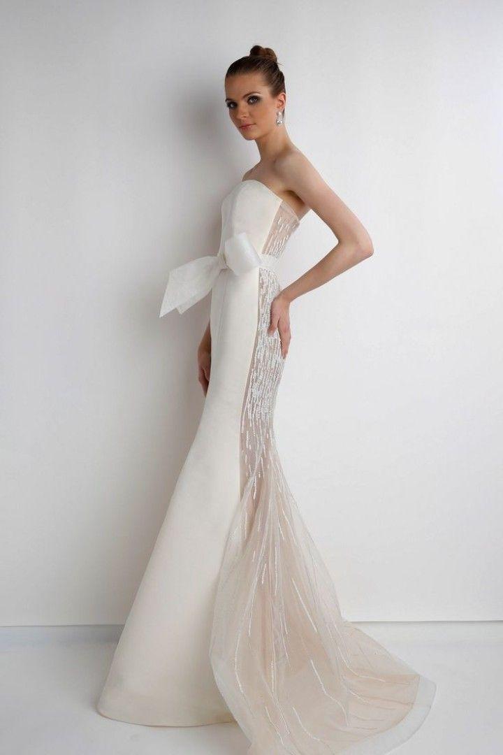 Rafael Cennamo Wedding Dresses - MODwedding… the shape, love the back (naht the bow)