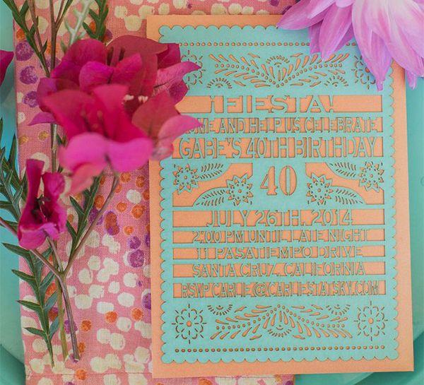 Invitación troquelada #ideas #bodas #mexico