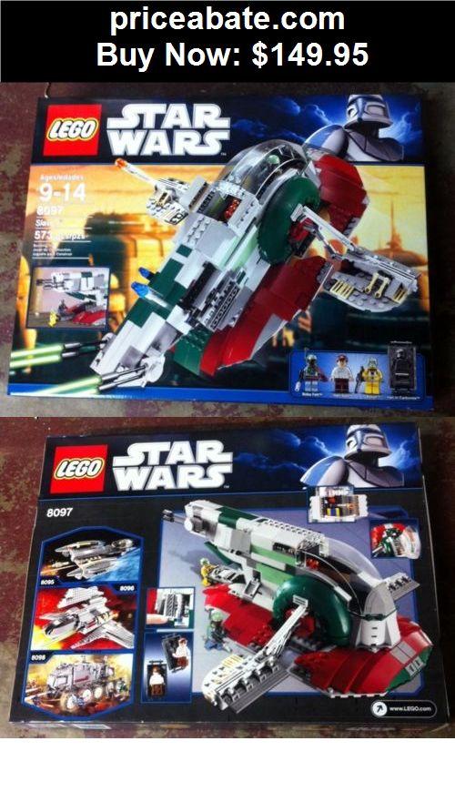 Toys: Star Wars Lego 8097 SLAVE 1 Bounty Hunter Boba Fett  FACTORY SEALED  - BUY IT NOW ONLY $149.95