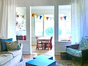Sunroom Playroom Family Room - eclectic - living room - chicago - Michelle Sasveld, Exceptional Home