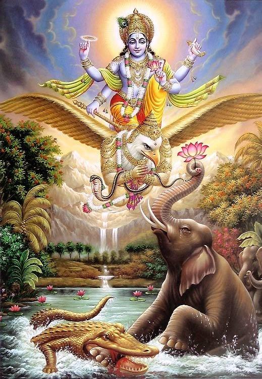 Vishnu is the preserver