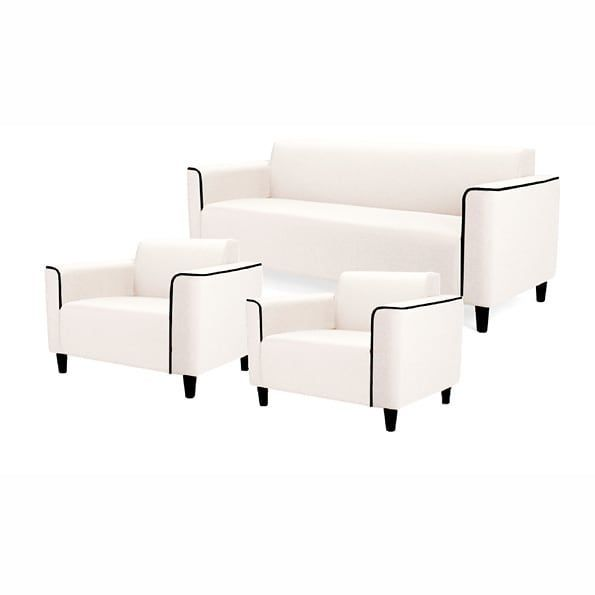 Beige Fabric Sofa Set 3 1 1 Priced At 61 000 Delivery Pan India Also Available In Other Configurations S Beige Fabric Sofa Furniture Living Room Trends