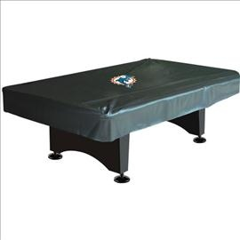 #Miami #Dolphins Deluxe 8ft Pool Table Cover