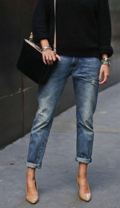 contrast stripe jeans - Nude & Neutrals Prada VlMQs