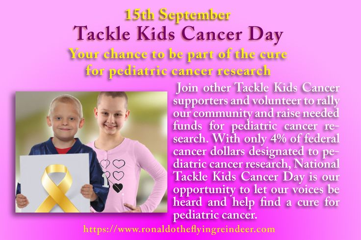 #today 15th Sept is #TackleKidsCancerDay Hackensack University Medical Center Foundation founded National Tackle Kids Cancer Day to raise awareness about the need for more research and fundraising to find a cure for this horrific disease. Tackle Kids Cancer was formed nearly two years ago, and since its inception in September 2015, it has raised $4.5 million #DoubleCheeseburgerDay #GreenpeaceDay #cancer #cancers #support #kidscancer #CancerResearch