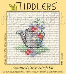 Brand new Mouseloft Tiddlers Kit - Floral Watering Can