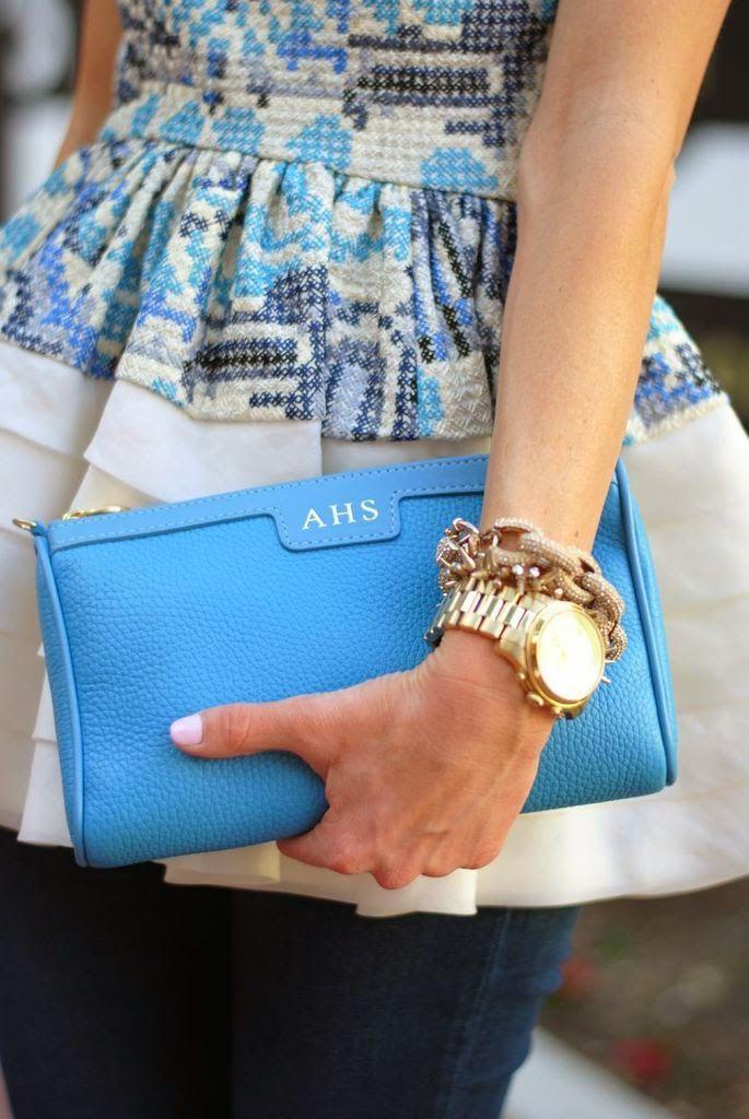 GiGi New York | Sequins & Things Fashion Blog | Maggie Sky Blue | #GiGiDallas & #RSTHECON