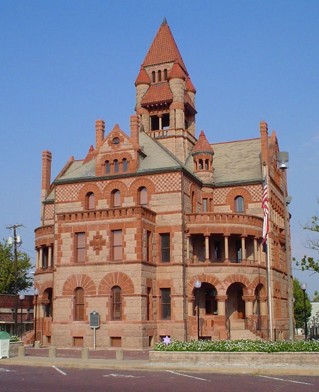sulphur springs texas courthouse texas pinterest
