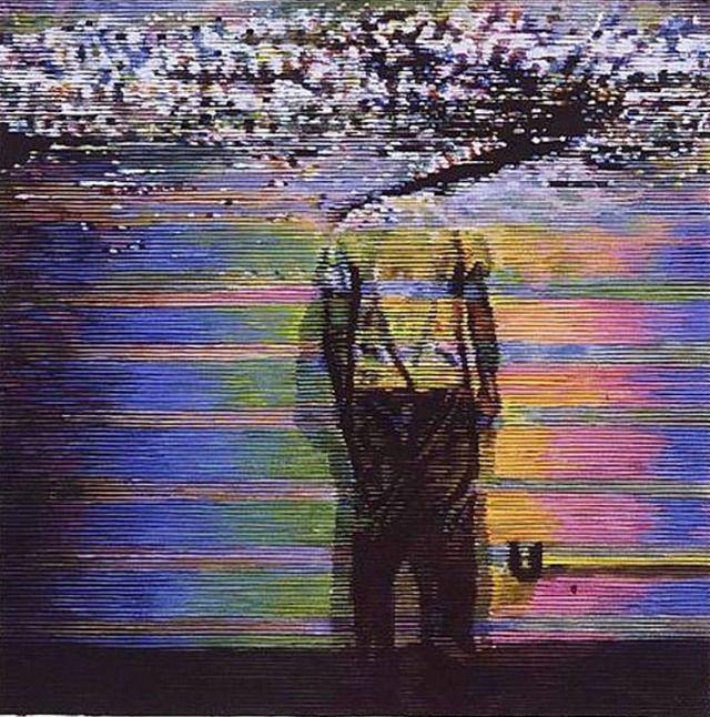 Kon Trubkovich: As of this morning new favorite artist. Recreates old school VHS…