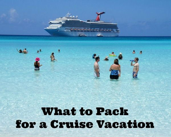 What to pack for a cruise vacation! #cruise #cclsummer This would have been really nice to have a few years ago.