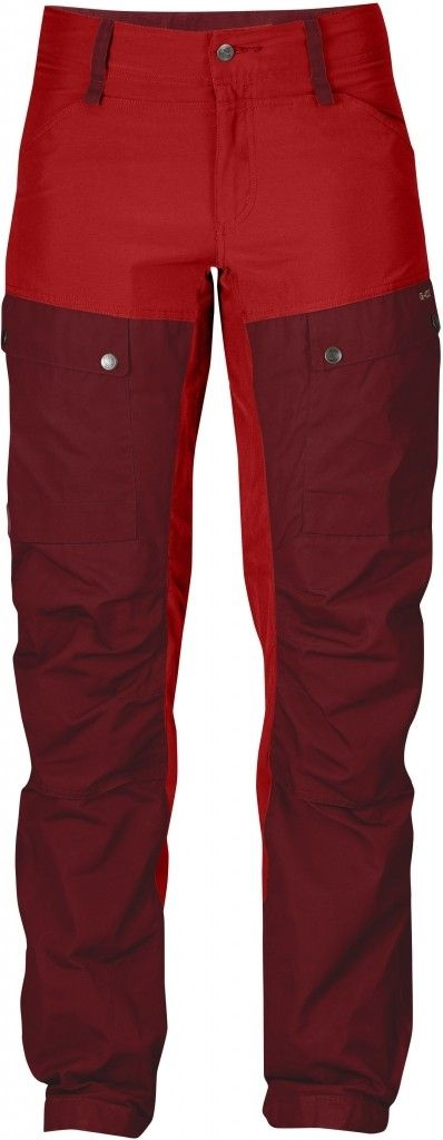 Fjällräven KEB Trousers Curved, W's, Ox Red