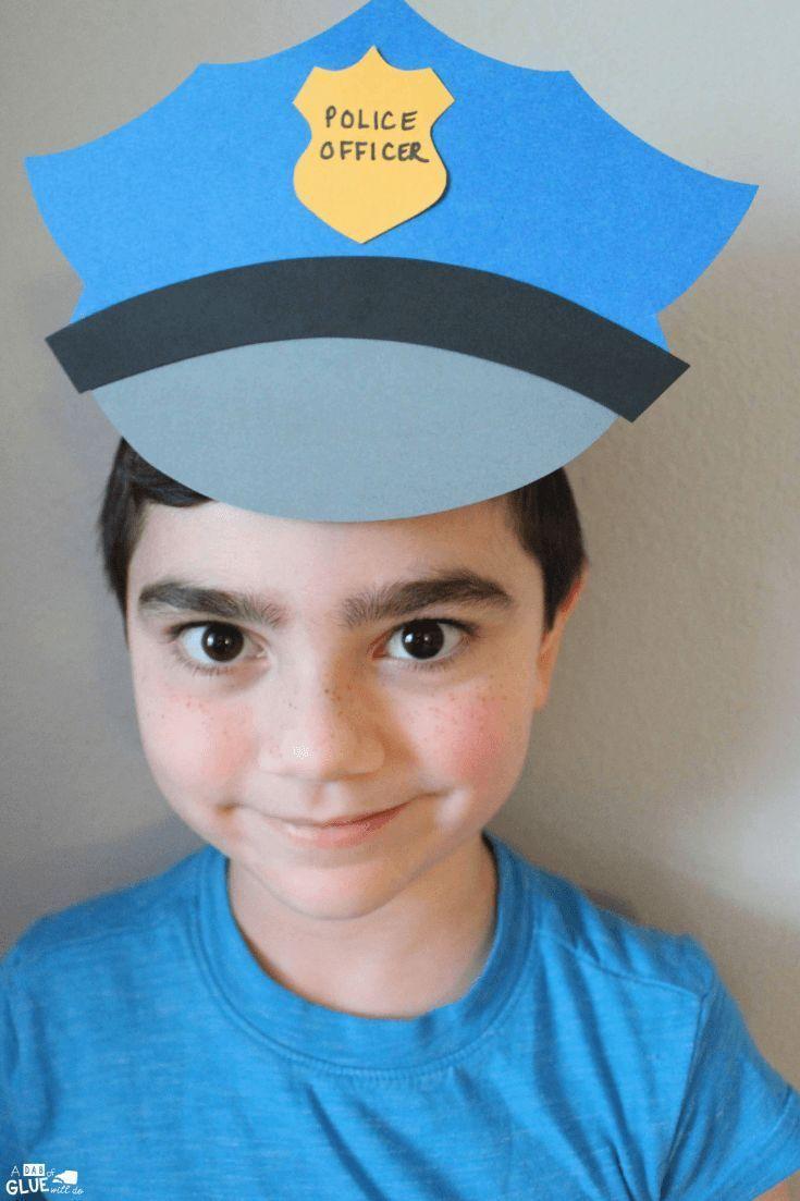 Paper Police Hat Craft | Crafts & DIY I Love | Kids police