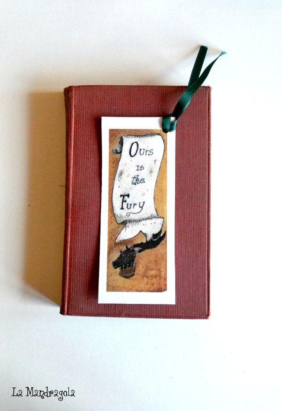 Baratheon Game of Thrones bookmark by Mandragola on Etsy #italiasmartteam #etsyshop #etsy #shopping #giftidea @etsy