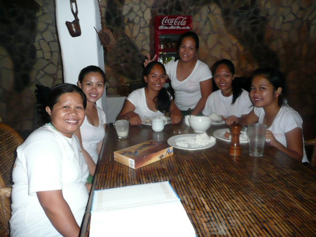 The Ladies who work at Atlantis Dive Resort~ Dumaguete Philippines