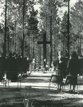 Penrhos College Chapel in the pines 1971