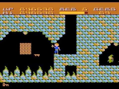 ▶ Atari 800 XL - Twilight World levels 1-7 - YouTube