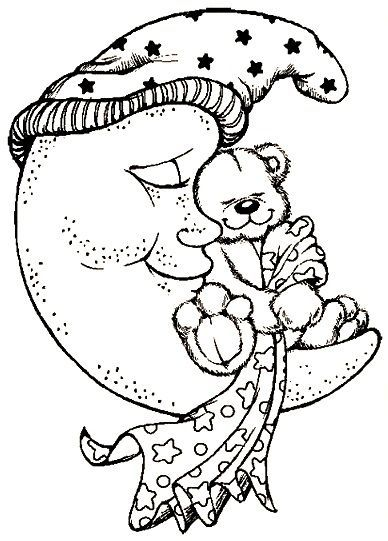 13 best coloring pages (sun moon stars rainbows) images