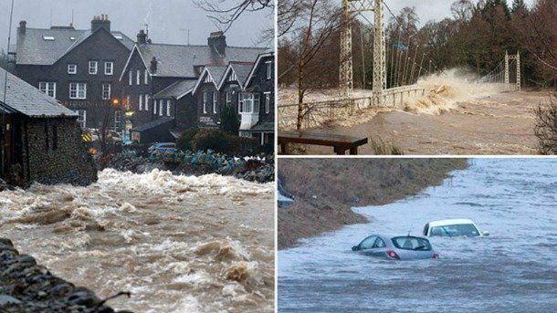 Η Μεγάλη Βρετανία… πνίγεται! (εικόνες)
