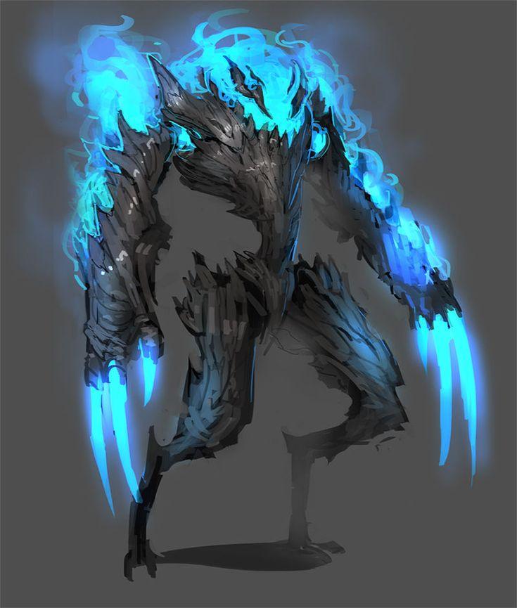 Montruo del infierno Un alma lista para destrozar se usa como soldado infernal sigiloso las llamas que tiene son azules el fuego mas caliente que existe   Peligro 7