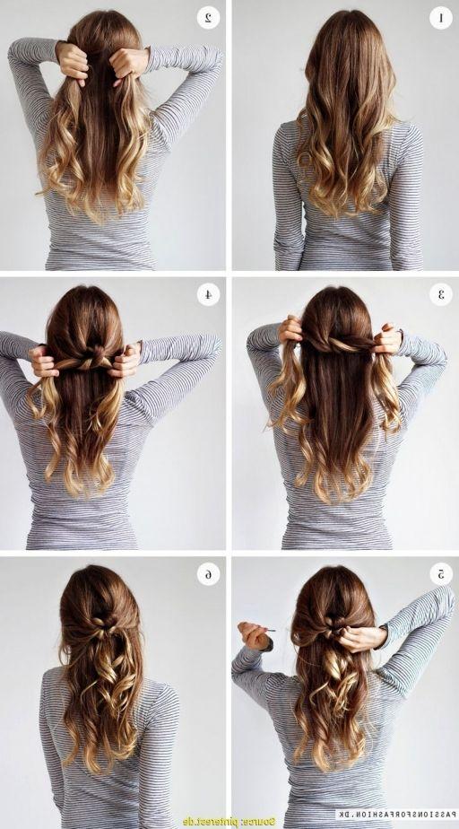 Frisuren Für Lange Haare Zum Selber Machen Flechten Trendige