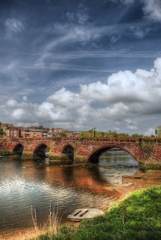 Old Dee Bridge Chester England