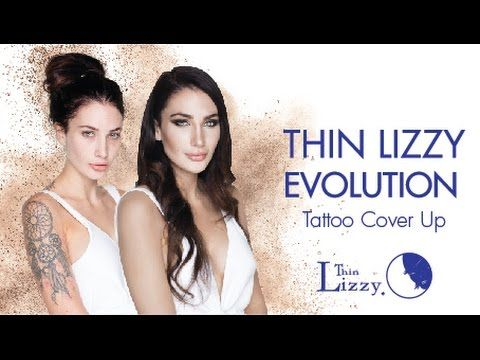 Thin Lizzy Evolution - Tattoo Cover Up with Krystal - YouTube