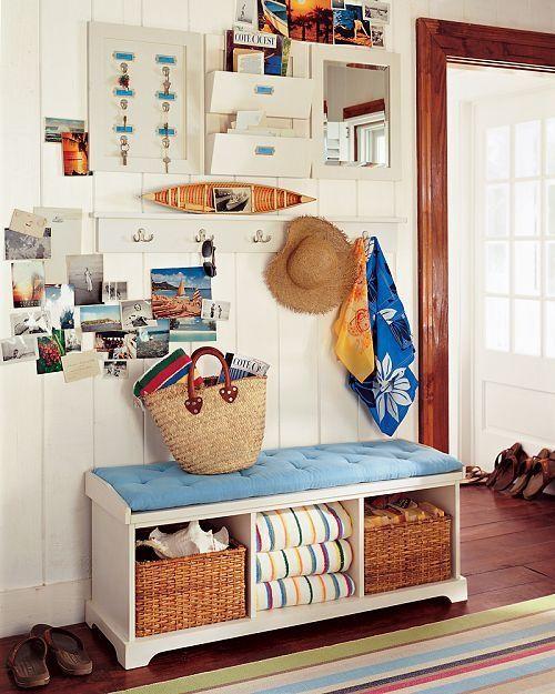 beach house entrance #decor #styling