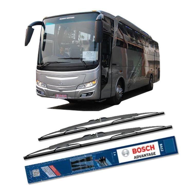 """Bosch Sepasang Wiper Kaca Mobil Bus/Bis Tipe Rahayu Sentosa Skyliner 2012 Advantage 28"""" & 28"""" - 2 Buah/Set  Umur Pakai & Daya Tahan Lebih Lama Penyapuan kaca yang senyap Performa Sapuan Optimal Instalasi Mudah & Cepat Original Produk Bosch  http://klikonderdil.com/with-frame/1191-bosch-sepasang-wiper-kaca-mobil-mobil-busbis-tipe-rahayu-sentosa-skyliner-2012-advantage-28-28-2-buahset.html  #bosch #wiper #jualwiper #bisrahayu"""