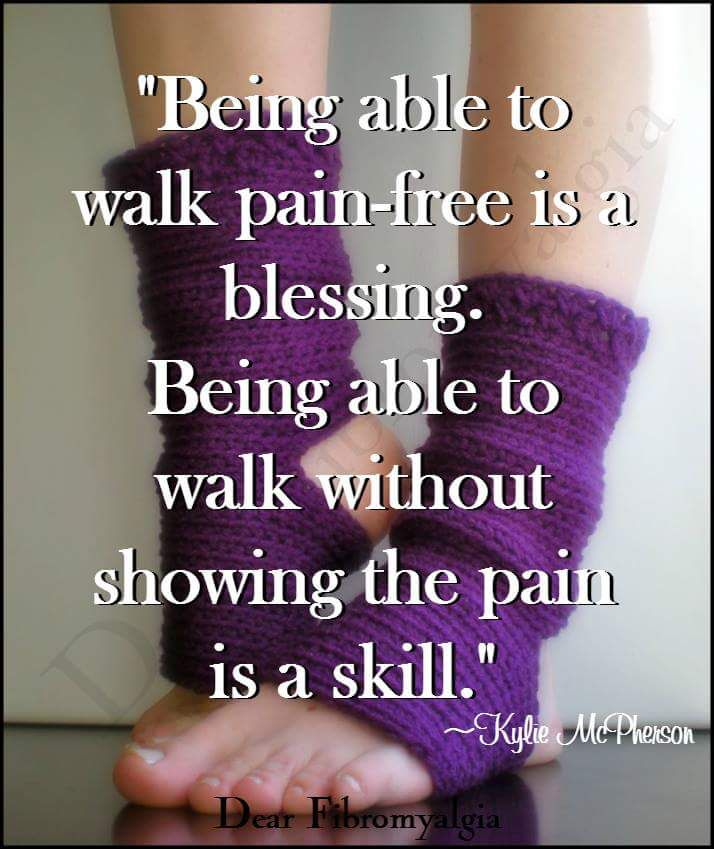 WALKING IS A TRUE BLESSING THAT SOME OF US DONT HAVE!  BE THANKFUL AND GREATFUL FOR WALKING AT ALL!