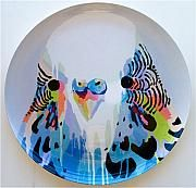 Kitchen : Melamine Budgie Plate