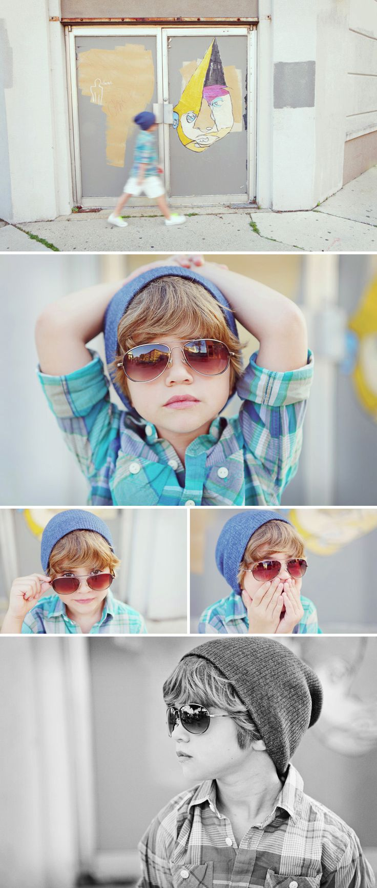 adorable boy photo shoot
