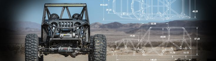 Rock Crawler Chassis | Rock Crawler Parts | Rock Crawler Buggy | Off Road Buggy For Sale — Manufacture of the IBEX weld it yourself Rock Crawler Chassis