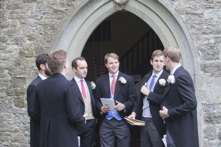 Outside the church.... #groomsmen #shropshire #wedding #weddingphotographer