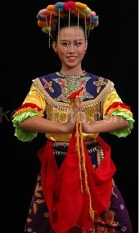 One the Betawi traditional clothes  Jakarta, Indonesia.