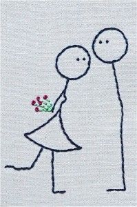 Love embroidered.